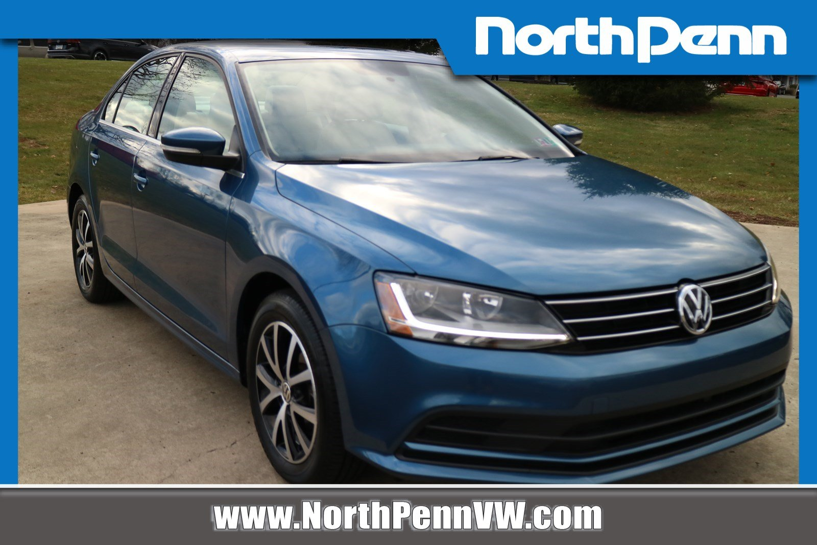 North Penn Volkswagen >> Pre Owned 2017 Volkswagen Jetta 1 4t Se Fwd 4dr Car