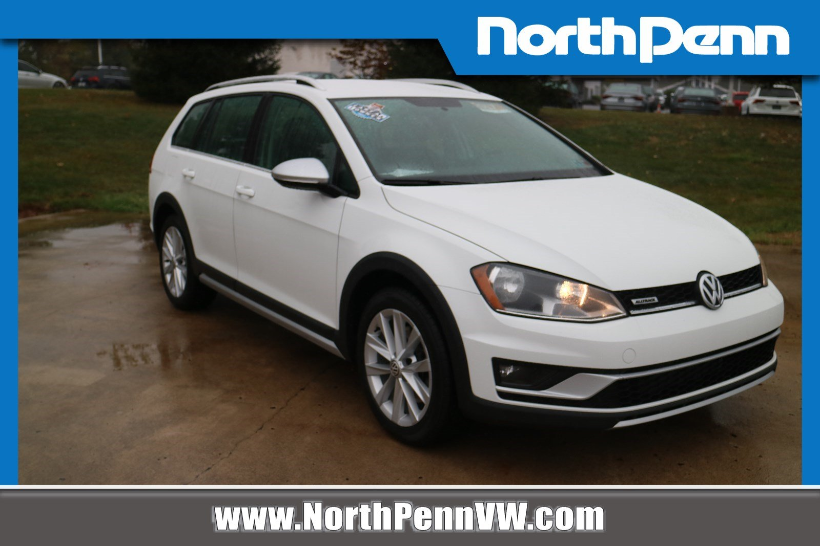 North Penn Volkswagen >> Pre Owned 2017 Volkswagen Golf Alltrack S Awd