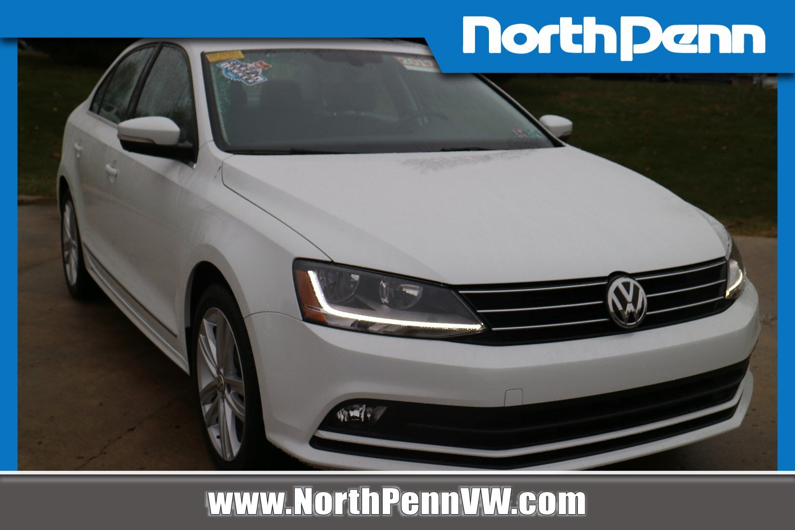 North Penn Volkswagen >> Pre Owned 2017 Volkswagen Jetta 1 8t Sel Premium With Navigation