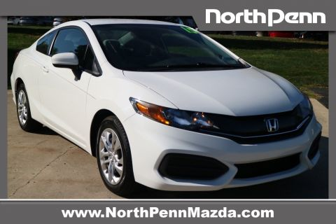 Pre-Owned 2015 Honda Civic Coupe LX