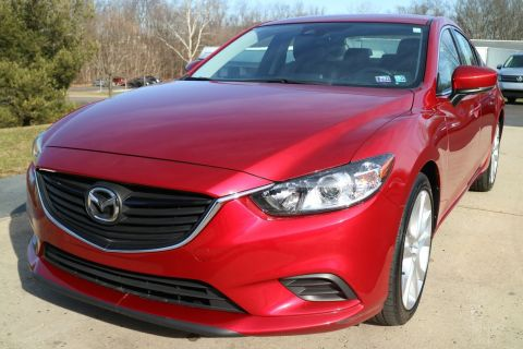 Certified Pre-Owned 2017 Mazda MAZDA6 Touring