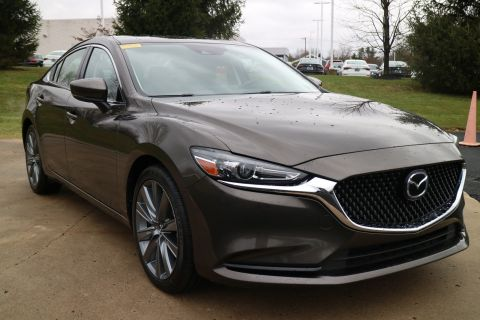 Certified Pre-Owned 2018 Mazda MAZDA6 Touring