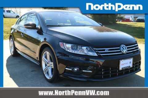Pre-Owned 2017 Volkswagen CC R-Line 2.0T Executive w/Carbon